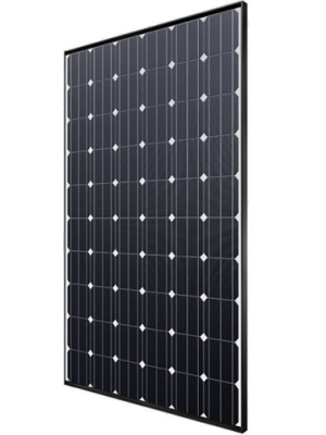 German produced high quality all-black PV module