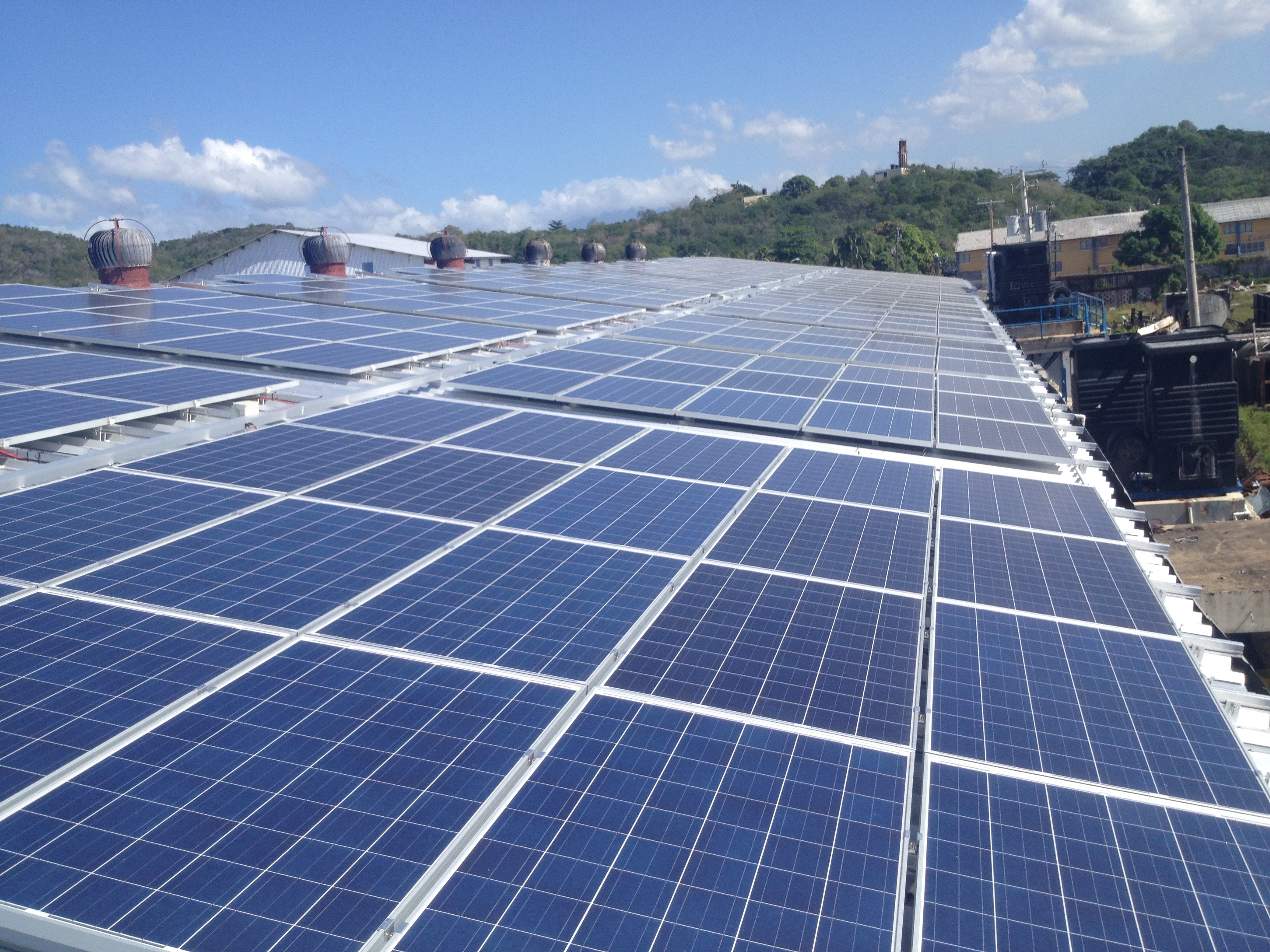 300 Kwp Pv Solution Jamaica Case Story