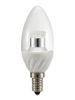LED Crystal C37 Bulb Dimmable